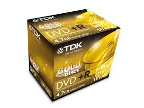 TDK-DVD+R10JCG